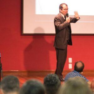 Servidores de Vitória lotaram palestra sobre experiências e boas iniciativas no setor público