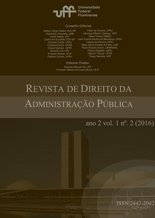 Revista de Direito da Administração Pública