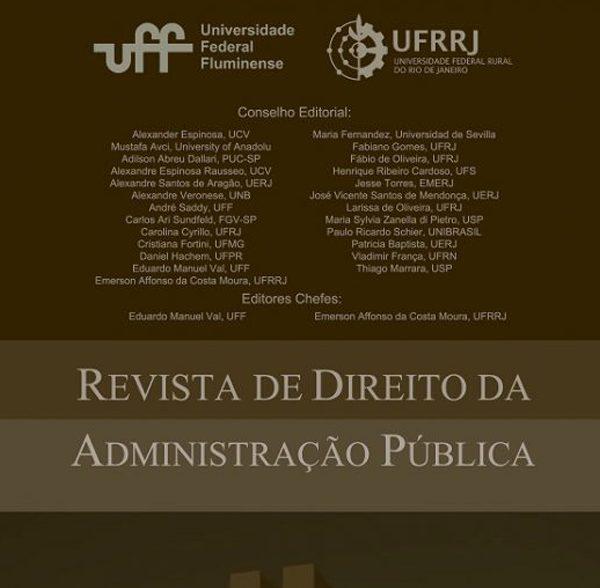 UFF lança nova edição da Revista de Direito da Administração Pública